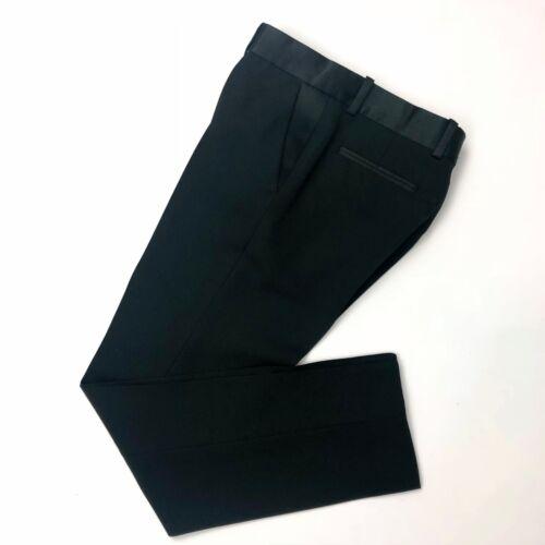 pantaloni nera Xs 4 seta lana Pantaloni Fr34 misura in Us2 Celine su di Auth Ladies v0B4H4
