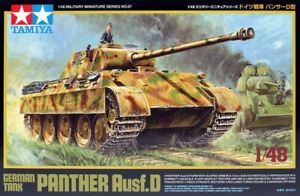 Tamiya-32597-1-48-Seconde-Guerre-Mondiale-Allemand-Tank-Panther-Ausf-d-Neuf