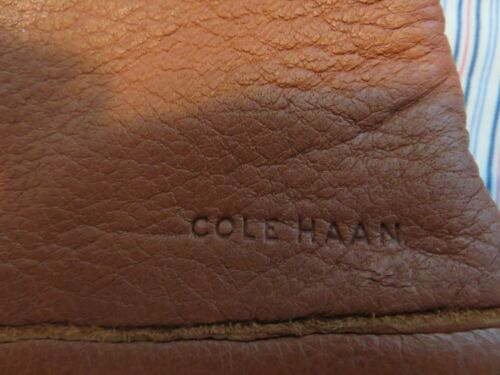 Cole Haan Men/'s Deerskin supersoft Leather gloves soft knit lining tech friendly