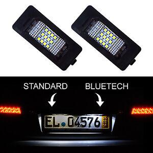 2x-LED-KENNZEICHENBELEUCHTUNG-KENNZEICHENLEUCHTE-BMW-5-ER-E39-E60-F10-F11-F07