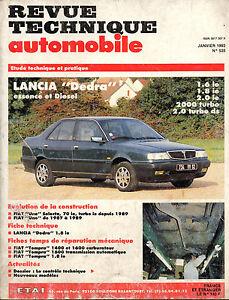 RTA-revue-technique-automobile-n-535-LANCIA-DEDRA
