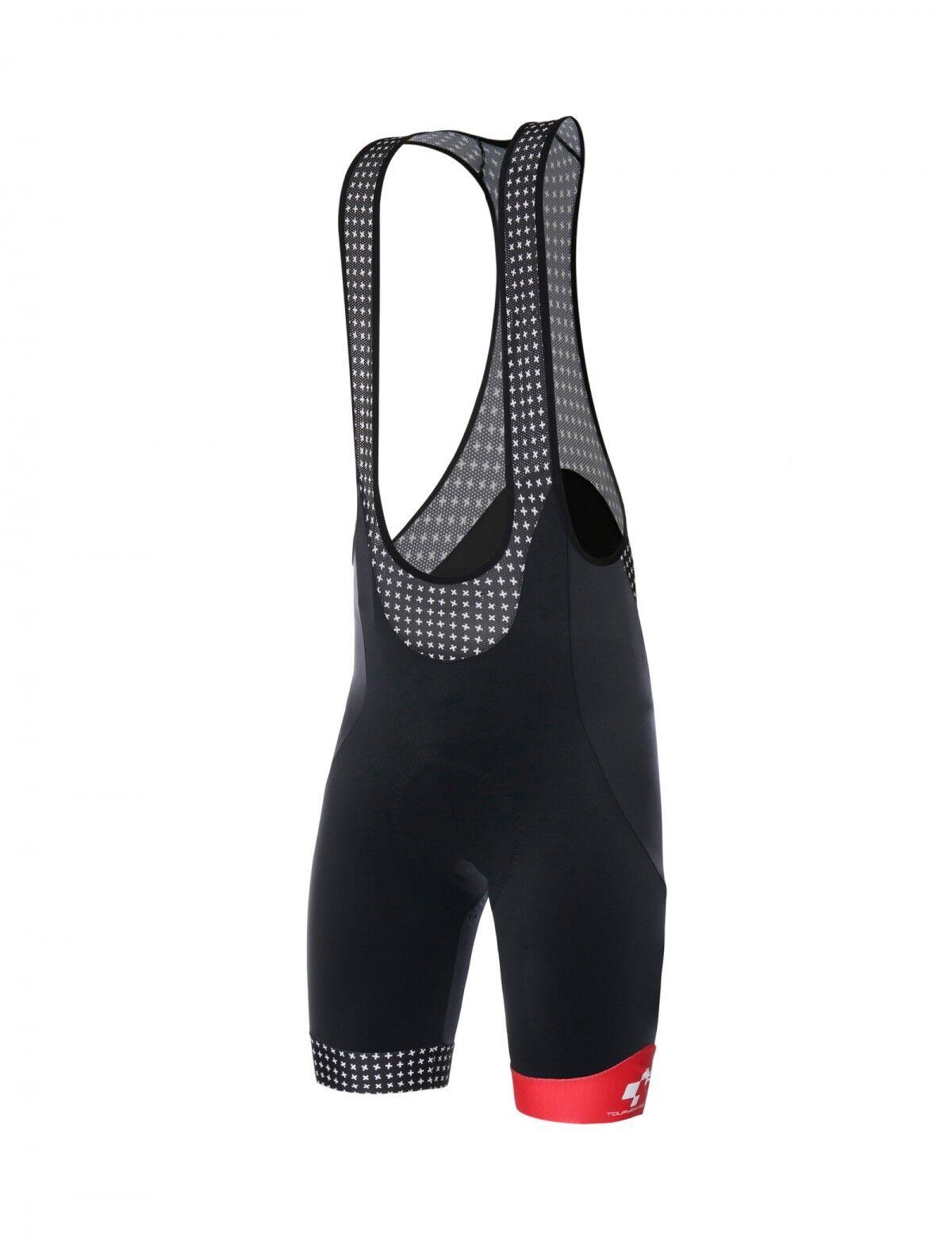 2018 Tour de Suisse Helvetia  Ciclismo mono Pantalones cortos-por Santini  suministro de productos de calidad