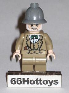 LEGO INDIANA JONES 7198 Dr. Henry Jones Minifigures New