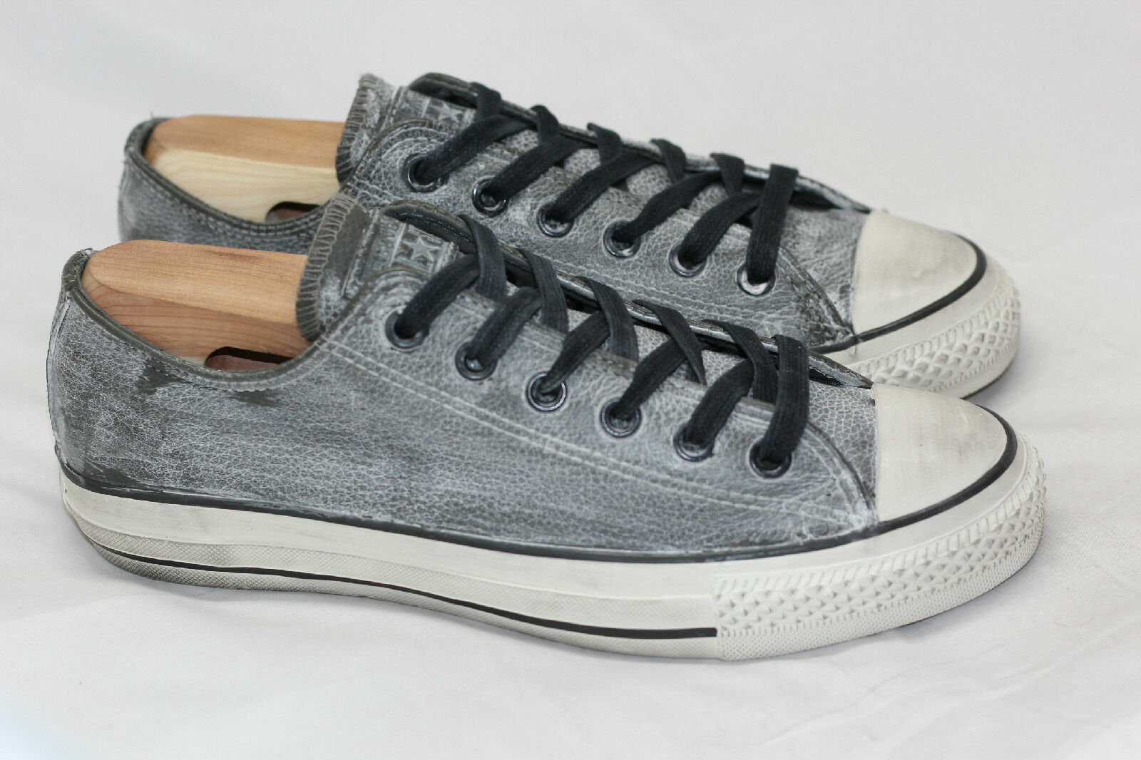 All Star Converse X John Varvatos Pelle Low Top SneakerNero Beluga 6 (R79)