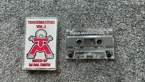 Trackmasters-Vol1-DJ-DAL-Smith-Underground-Garage-Music-cassette-Tape-Rare-House