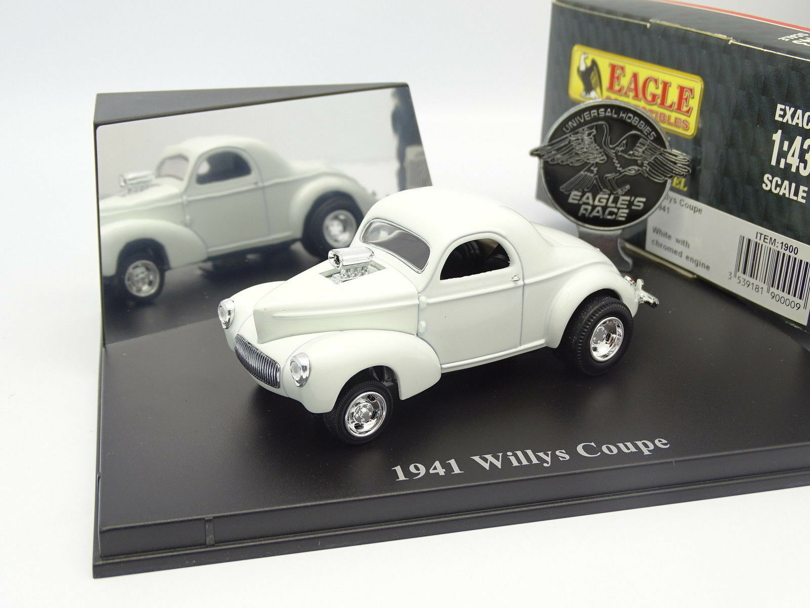 Universal Hobbies UH 1 43 - Chevrolet Willys Willys Willys 1941 whiteo Personalizar f141b0