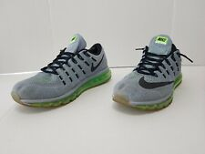 Mens Nike Air Max 2016 Electric Green Fog Sz 13 Mesh Running