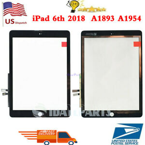 US-Touch-Screen-Digitizer-Replacement-for-iPad-6-6th-GEN-2018-A1893-A1954-Black