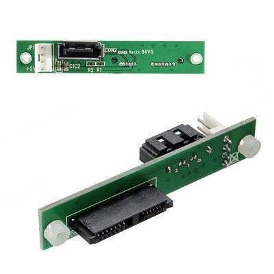 SLIMLINE auf SATA Slim SATA-SATA Schnittstelle Festplatte HDD Adapter Konverter