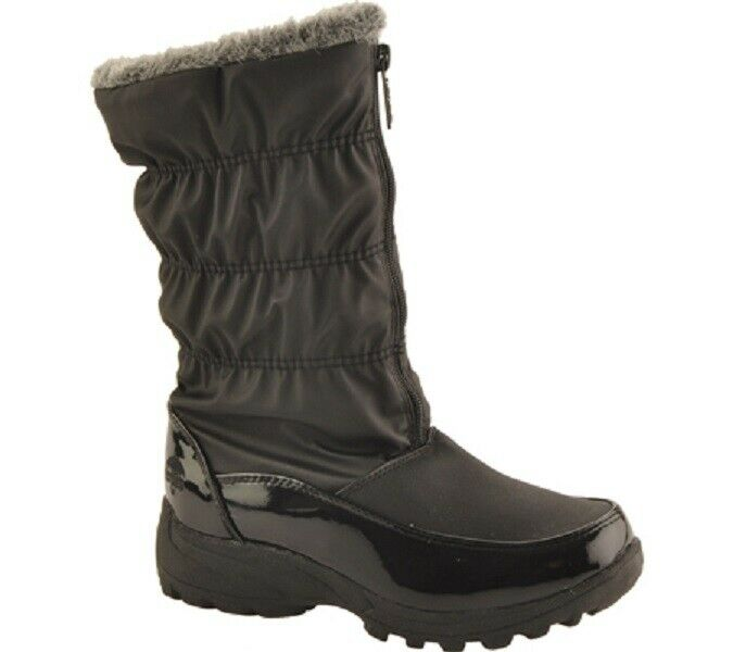 Totes Rachel snow boot Women's Size 10 M RUNS SMALL COMPARABLE TO SIZE 9  NIB