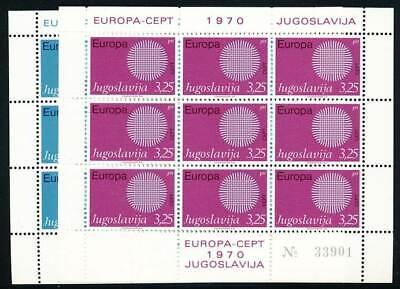 Nr.1379-80** Europa Cept Jugoslawien Klbg 243223