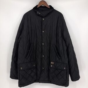 Polo Ralph Lauren Mens Size XL Quilted Diamond Hunting Jacket Barn Coat Chore