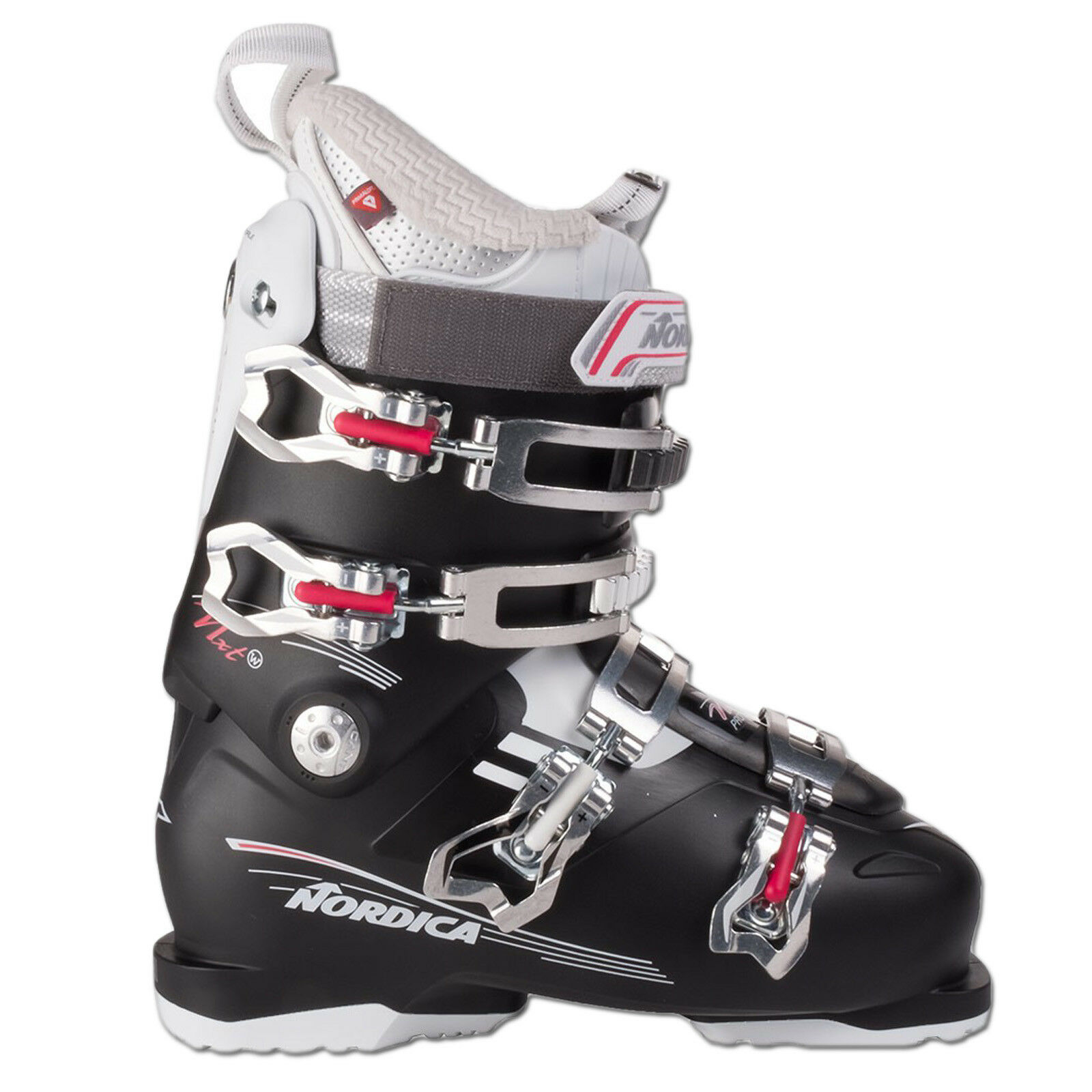 Nordica Nxt pro 75 Berry 2018 27,5 =42,5 Eu Women's Ski Boots shoes Boat
