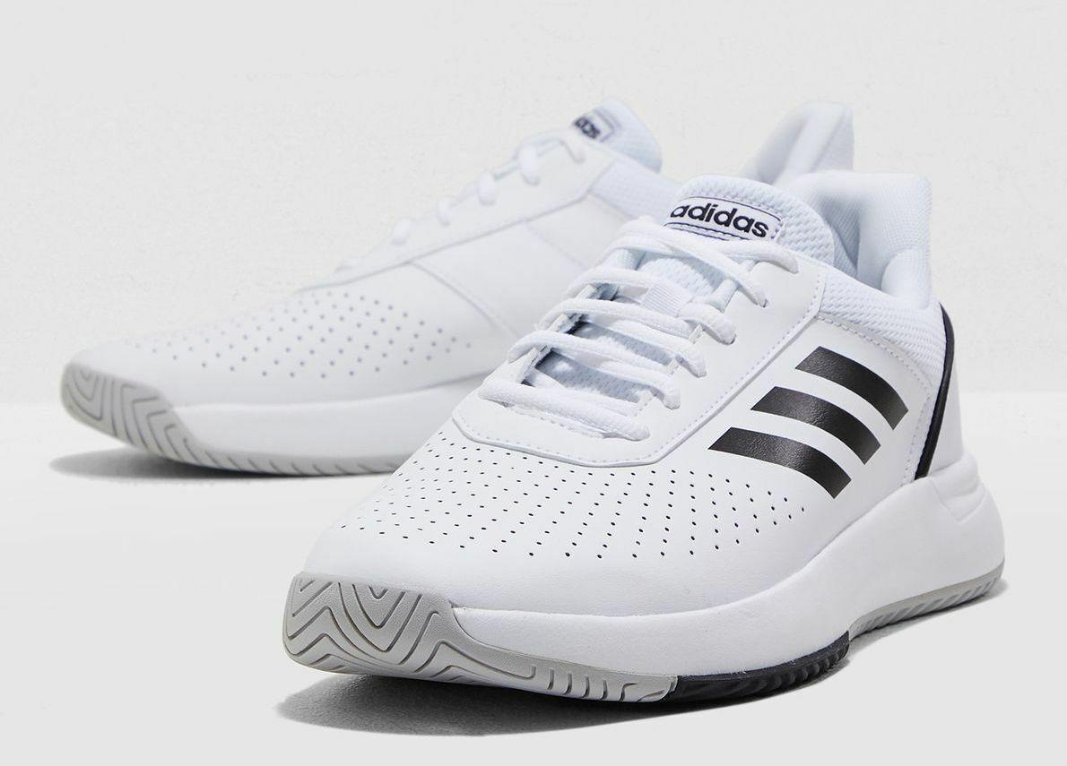 $26 NWT Boys Adidas Black//White Logo Climalite Short Sleeve Shirt Size 5 MSRP