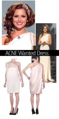 Robe Acne Studios Wanted Wanted Acne drap drap Studios Robe Acne 68pAqTAF