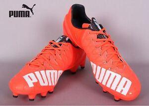 PUMA evoSPEED 1.4 FG 10326401 RED Soccer Football Cleats Shoes Boots ... c671ed60a618