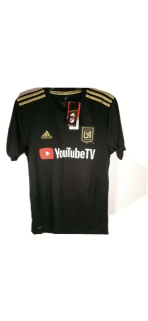 adidas Lafc Home Soccer Jersey Black and Gold Stadium Kit Size 2xl ...