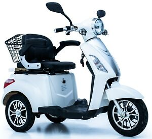 Electric Mobility Scooter 3 Wheeled Eco ZT500 20AH 600W LED Display Green Power