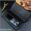 thumbnail 19 - Men Women Black Leather Phone Wallet Clutch Purse Card Cash Coin Photo ID Holder