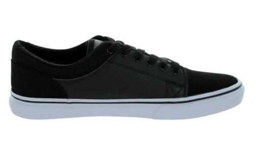 Adio GRIP Skate Shoe Mens Black White Trainers