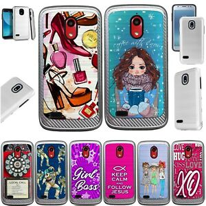 more photos a3f14 edb1f Details about ARTILLERY Case For AT&T AXIA Brushed Hybrid Phone Cover C3