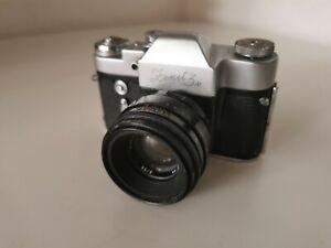 Art-Deco-design-Zenit-3M-camera-favorite-of-Che-Guavera-Helios-44-2-58mm-lens