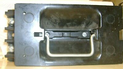 Fusetron Single Edison Fuse BOX COVER UNIT 120 Volt SPST Switch BUSSMANN STY