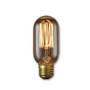 Nostalgic 120V Edison T14 Thread Antique Bulb 40 Watt