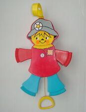 Jouet jeu ancien Fisher Price 1978 vintage ref 423 pantin Jumping Jack Scarecrow