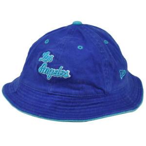 NBA-Los-Angeles-Lakers-Sun-Bucket-Large-XLarge-Hat-Crusher-New-Era-Blue-HWC
