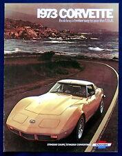 Prospekt brochure 1973 Chevrolet Chevy Corvette Reprint (USA)
