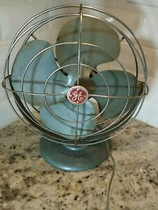 GE General Electric Vintage Oscillating Fan (10 inch), not working.