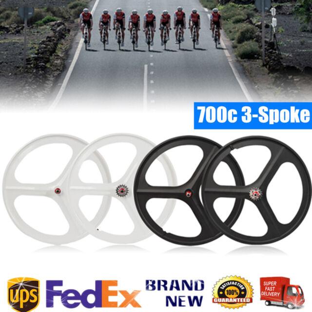 Halfords Essentials Front Rear Mudguard Set Black 700c Wheel Road Racing Bike For Sale Online Ebay