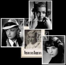 PRISON SANS BARREAUX Corinne LUCHAIRE G. LECLERC Osso PECQUEUX DP + 3 Photos '37