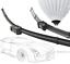 600,475,400,400mm at avant arrière essuie-glaces pour VW Caddy ab04 Bj Wizard