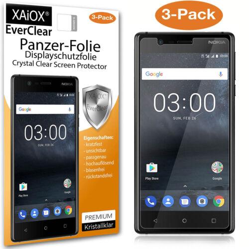 3x Nokia 3 tanques lámina lámina protectora de pantalla ⚡ véase video ⚡ ✅ ✅ ✅ ✅ ✅ ✅ ✅ ✅ ✅ ✅ ✅ ✅