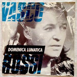 VASCO-ROSSI-1989-7-034-MINT-Domenico-Lunatica-Vivere-0061188367-EMI-Germany