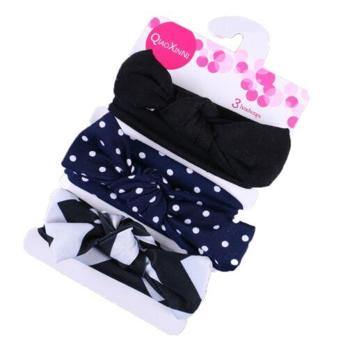 3pcs//Set Neugeborenes Stirnband Für Babys Stirnband Verband Für Mädchen Zubehör