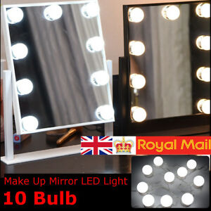 Image Is Loading Hollywood Led Strip Lights Make Up Mirror