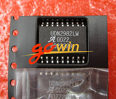 5PCS UDN2982LW ALLEGRO IC SOURCE DRIVER 8CHAN 18SOIC NEW good qualiy