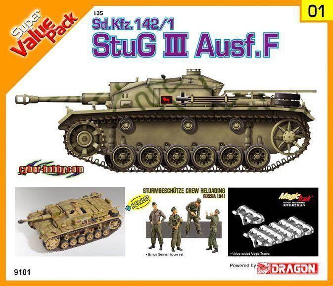Cyber Hobby 1 3 5 9101  Solid StuG III ausf. F sd.kfz.142 1