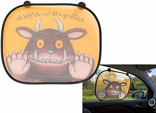 Kinder 2er Pack Gruffalo Autofenster Uv-Schutz Netz Sonnenblende Satz 303023