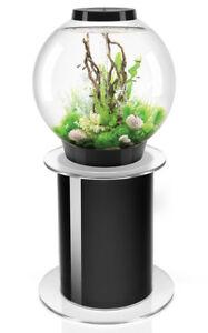 Biorb Classic 105 Black Mcr Led Aquarium & Stand 105l Présentoir Fish Tank Oase 822728008263