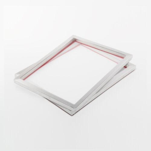 2x 47T Siebdruckrahmen 61x51cm A3+Siebdruck Sieb im A3 Format für Textildruck