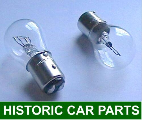 STOP TAIL BULBS x 2-12volt 21//5watt Side Brake bulb