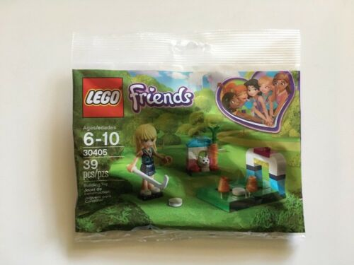 Lego Friends 30405 Stephanie/'s Hockey Practice Polybag New Sealed Bag