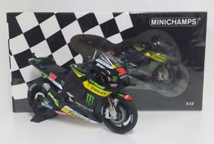 MINICHAMPS-BRADLEY-SMITH-1-12-MODELLINO-YAMAHA-M1-TECH-3-MONSTER-MOTOGP-2016-NEW
