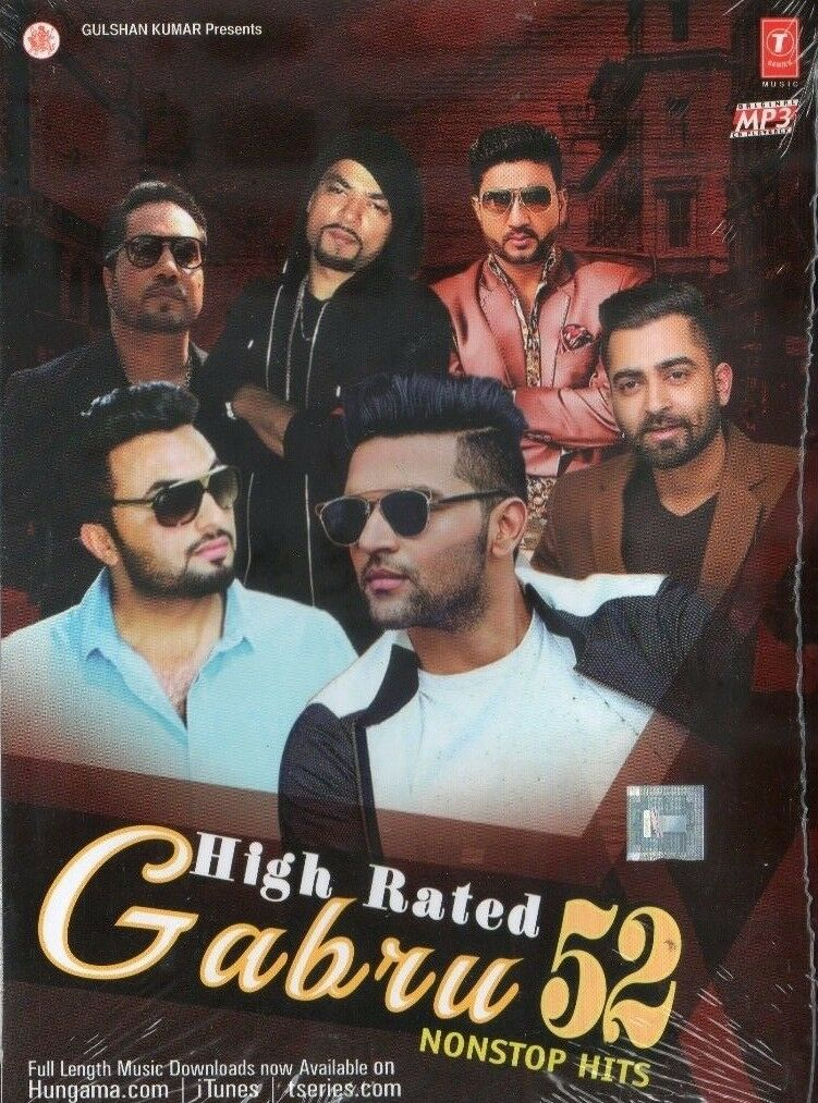 High Rated Gabru 52 Non Stop Hits Bonus Tracks Punjabi Songs Mp3 For Sale Online Ebay