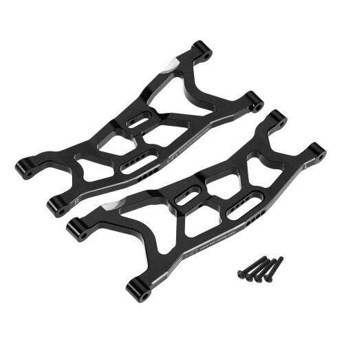 Hot Racing Yex5501 Aluminio Suspensión Inferior Frontal Brazos Negro Axial Yeti