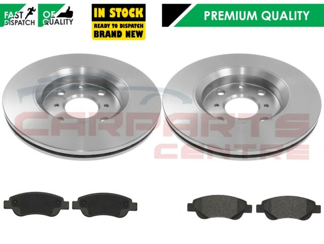 CITROEN C1  1.0  1.4 HDi FRONT BRAKE PADS AND VENTED DISCS 2005-0N